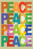 Peace (Dove) Art Poster Print