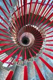 Double Helix Staircase in Ljubljana Castle
