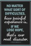 Dalai Lama Hope Quote Motivational Poster