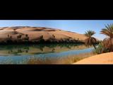 Umm-Al-Maa  Oasis  Libyan Sahara
