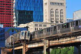Passing CTA Trains