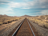 Train Tracks in the Desert