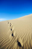 Footprints in Sand Dune