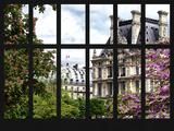 Window View - Parisian Architecture in the Spring - Paris - Ile de France - France - Europe