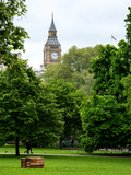 View of St James's Park with Big Ben - London - UK - England - United Kingdom - Europe