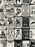 Antique Enamelled Signs - Wall Signs - Notting Hill - London - UK - England - United Kingdom