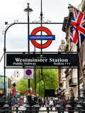 Westminster Station Underground - Subway Station - London - UK - England - United Kingdom - Europe