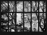 Window View - View of Dome of the Sacre Cœur Basilica - Montmartre - Paris - France - Europe