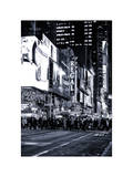 Times Square Urban Scene by Night - Manhattan - New York City - United States