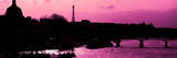 Landscape View of the River Seine and the Eiffel Tower at Sunset - Paris - France - Europe