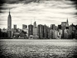 Landscape View Manhattan with the Empire State Building and Chrysler Building - New York