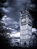 Big Ben - City of London - UK - England - United Kingdom - Europe - Blue-Tone Photography