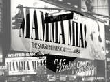 Love NY B&W Series - Mamma Mia The Musical - Winter Garden Theatre - Manhattan - New York - USA
