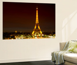 Wall Mural - The Eiffel Tower at Night - Paris - France