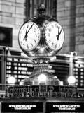 Grand Central Terminal's Four-Sided Seth Thomas Clock - Manhattan - New York Papier Photo par Philippe Hugonnard