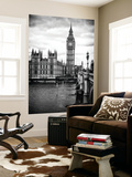 Wall Mural - Palace of Westminster and Big Ben - Westminster Bridge - London - England