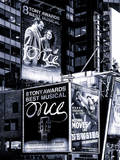 Billboards Best Musicals on Broadway and Times Square at Night - Manhattan - New York