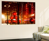 Wall Mural - Christmas Decorations of the Radio City Music Hall - Manhattan - New York