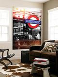 Wall Mural - The London Underground Sign - Public Subway - UK - England - United Kingdom - Europe