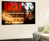 Wall Mural - Rocky Broadway Musical - Winter Garden Theatre - Manhattan - New York