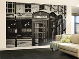 Wall Mural - Red Telephone Booths - London - UK - England - United Kingdom - Europe