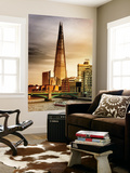 Wall Mural - The Shard Building and The River Thames - London - UK - England - United Kingdom