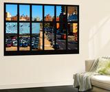 Wall Mural - Window View - Urban View of Chelsea - Manhattan - New York