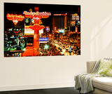 Wall Mural - The Strip - Las Vegas at Night - Nevada - USA