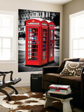 Wall Mural - Phone Booths - UK Red Phone - London - UK - England - United Kingdom - Europe