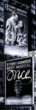 Door Posters - Billboards Best Musicals on Broadway and Times Square at Night - Manhattan