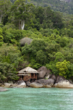 Rainforest and a Wooden Cabin of the 'Bagus Place