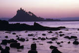St  Michael's Mount at Sunset Cornwall UK