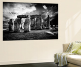 Wall Mural - Stonehenge - Abstract of Stones - Wiltshire - UK - England - United Kingdom - Europe