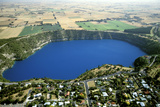 Blue Lake Volcano Extinct for 4800 Years Mount Gambier