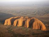 Aerial Uluru  Ayers Rock