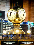 Instants of NY Series - Grand Central Terminal's Four-Sided Seth Thomas Clock - Manhattan