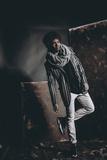 Male Model in Fashion Shoot