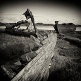Rotting Boats on Mud Flats