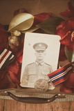 Photograph of Soldier in Uniform