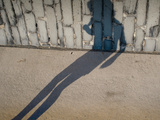 Childs Shadow on Wall