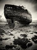 Old Boat on Sand