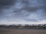 Row of Beach Chalets