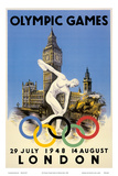 XIV Olympic Summer Games  London  England  July 29 to August 14  1948