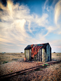 Old Fishermans Shed on Beach