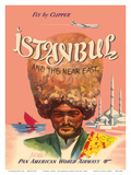 Istanbul Turkey and the Near East  Fly by Clipper  Pan American World Airways