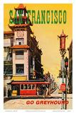 San Francisco  USA  Cathay House Restaurant  China Town  Go Greyhound