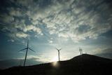 Wind Turbines on a Horizon