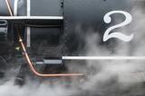 An Old Steam Train