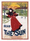 "Read ""The Sun""  Art Nouveau  La Belle Époque"