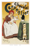Chocolat Carpentier  Art Nouveau  La Belle Époque